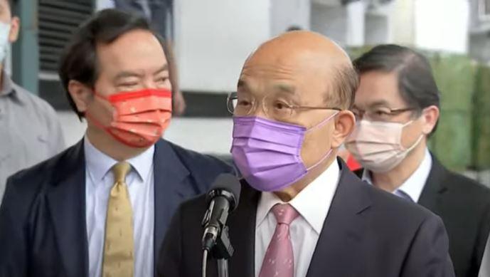 快新聞/藍營狂打政府獲美日捐疫苗 蘇貞昌:仇恨發言不符合台灣人民的善良