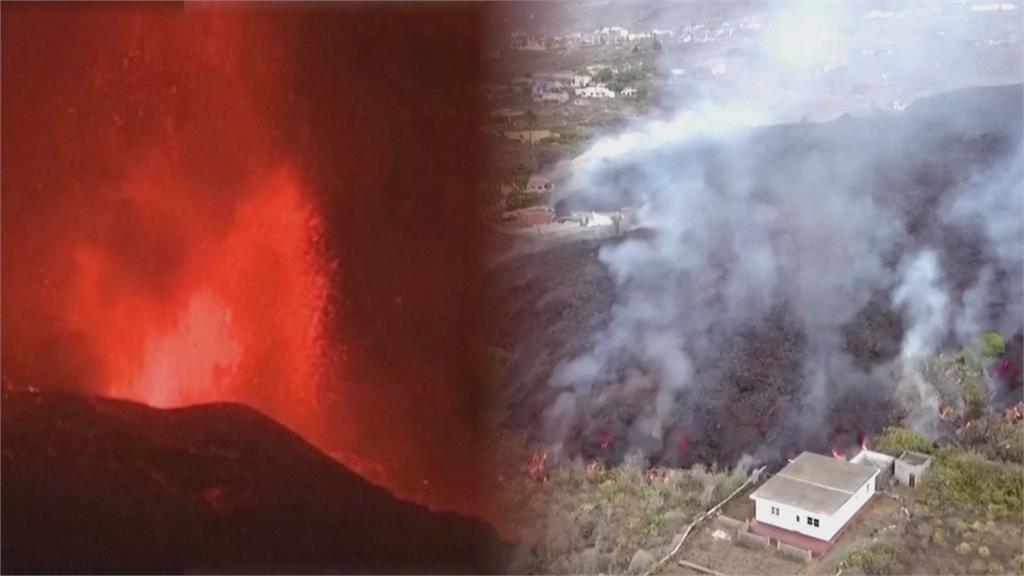 急撤5千人!西班牙火山岩漿狂噴毀百棟房 觀光部長竟稱:精彩絕倫的表演
