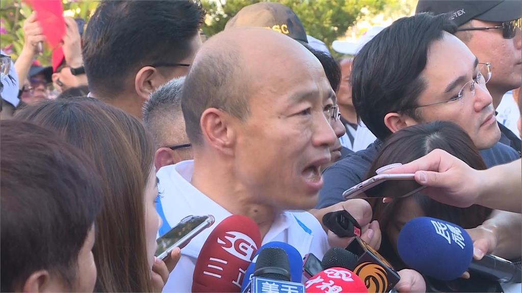 快新聞/動作頻頻? 韓國瑜替馬英九出庭抱屈 批民進黨政治追殺