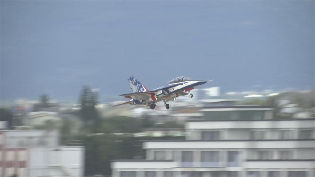 勇鷹號高教機志航基地首度亮相 F-5戰機預計2024年底全部汰除完畢