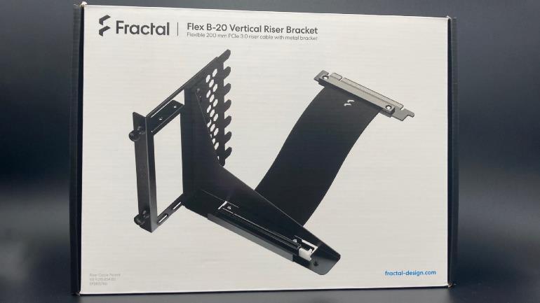 退一步海闊天空 Fractal Flex B-20 顯卡直立架
