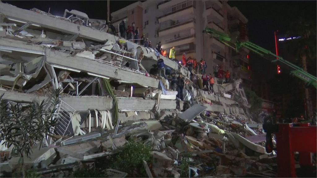 愛琴海規模7.0強震 土耳其.希臘重災共27死