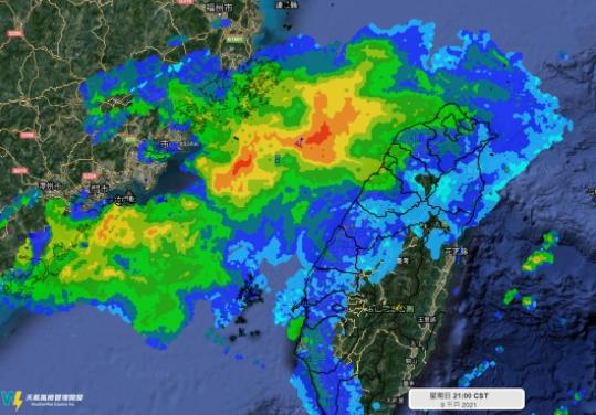 雷達回波「紅紅一大片」為何沒降雨?專家曝背後原因:雨滴都蒸發了!
