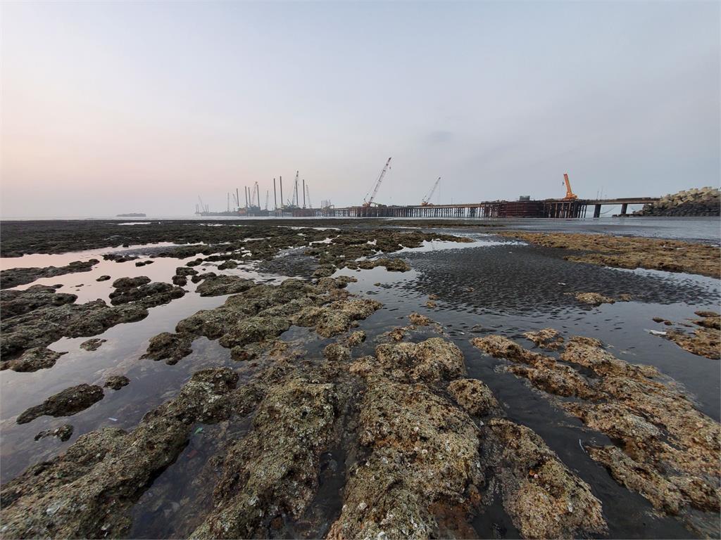 快新聞/立委考察第三天然氣接收站 中油:未破壞藻礁生態
