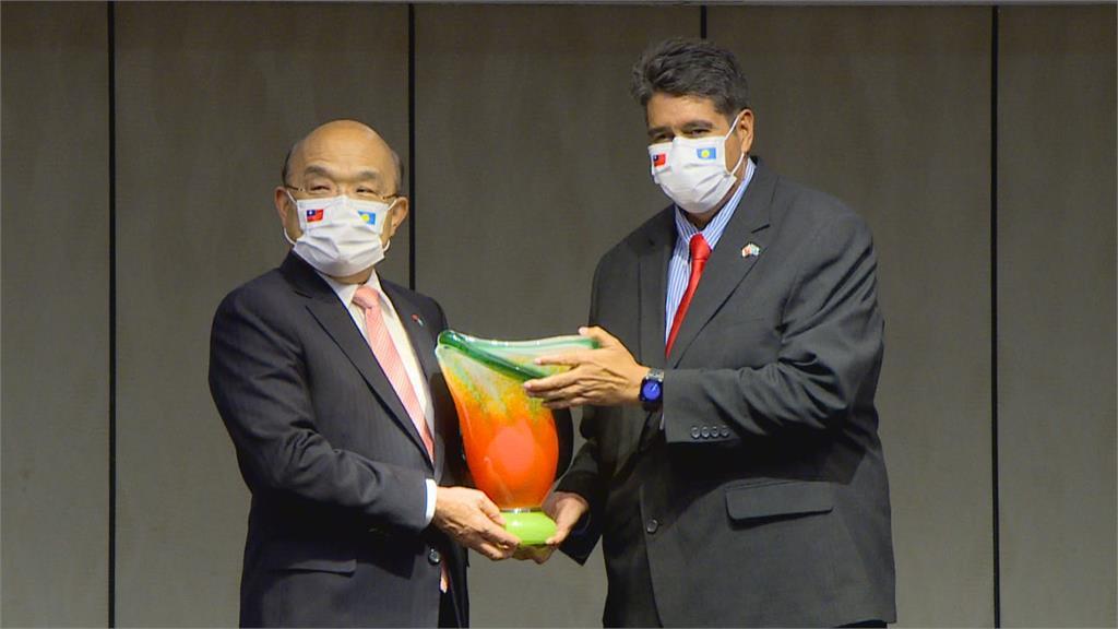 宴請帛琉總統惠恕仁 蘇貞昌:期待有一天能造訪