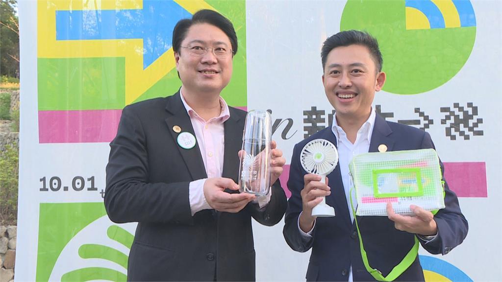 林智堅帶林右昌參觀設計展 「雙林」合作拚2022雙北市長?