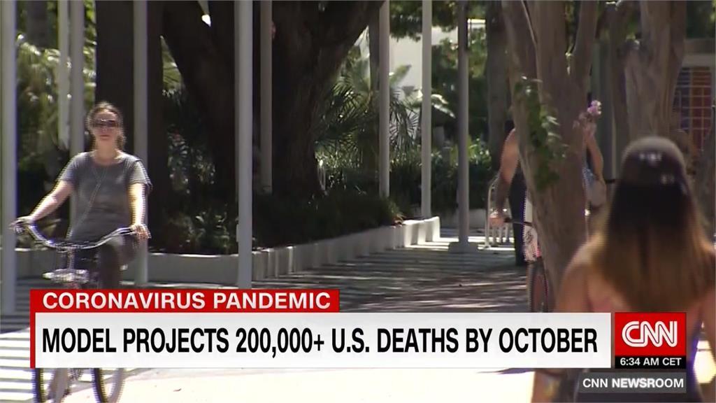 美解封後確診再飆升!10月初死亡數恐達20萬