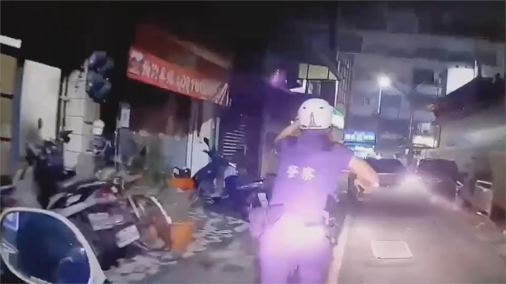 拒檢逃逸警開兩槍 友人家躲害通緝犯友也被逮