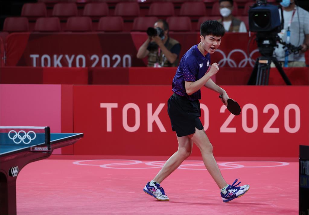 東奧/林昀儒追平台灣奧運桌球男單最佳成績 合庫銀祭150萬元獎金