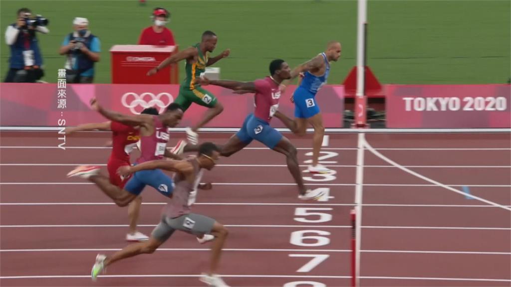 東奧男子百米決賽 義大利賈可布斯爆冷奪金