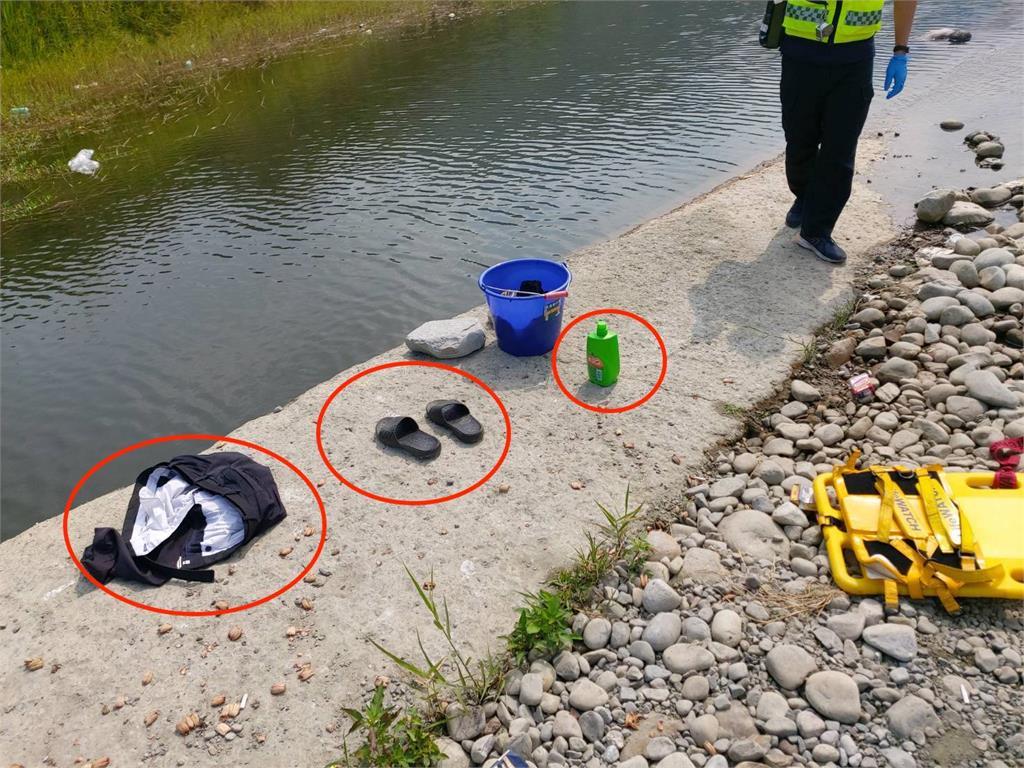 台中限水供五停二 男疑缺水「河邊洗澡、洗衣服」意外溺斃!