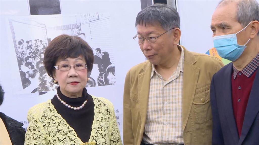 快新聞/鄭文燦、林右昌、陳時中誰2022來選台北市? 呂秀蓮:柯市長還在不要問
