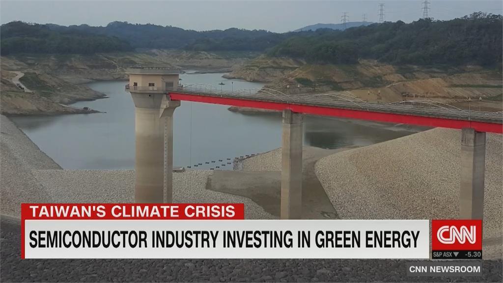 CNN記者來台報導疫情 同時關注乾旱問題