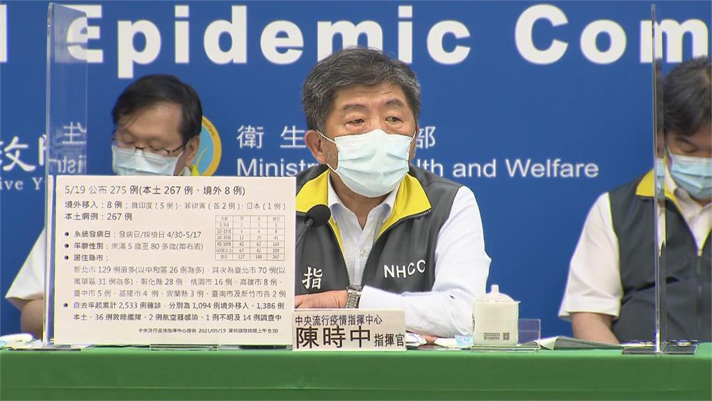 快新聞/全台升三級!陳時中:明起每天開全國防疫會議「中央地方齊一腳步」