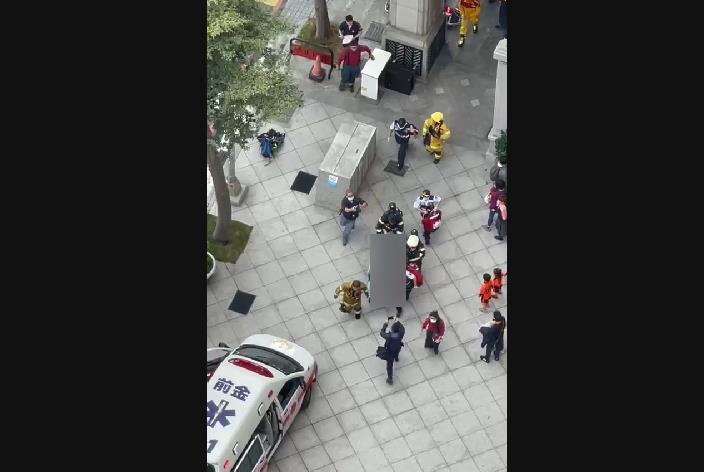 快新聞/高雄鼓山區大樓地下室疑沼氣外洩 4工人不適就醫