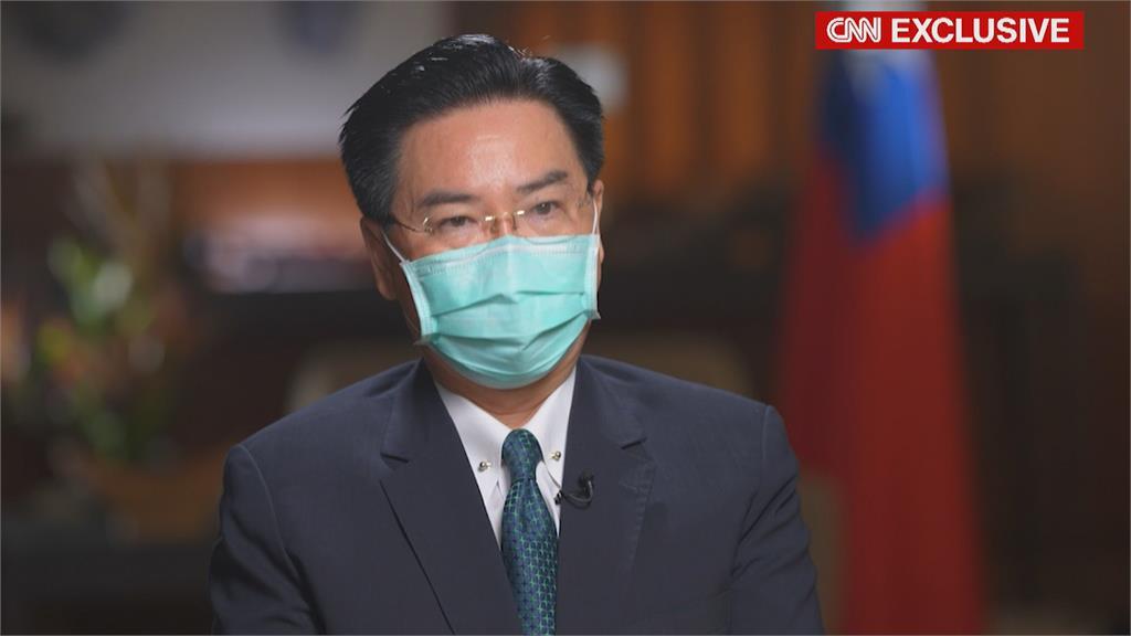 吳釗燮接受CNN專訪 坦言:台灣必須對武統做好準備