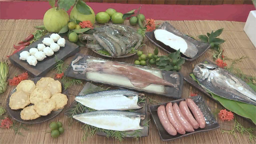 飛魚卵香腸好彈牙!蘇澳漁會中秋海鮮禮盒超澎湃