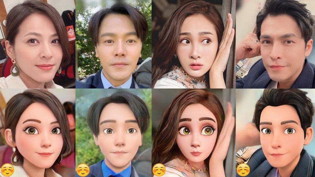 爆紅「迪士尼變臉App」秒變漫畫人物!若當《多情城市》演員變《多情迪士尼公主城市》會長怎麼樣呢?
