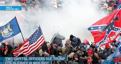 美國會大廈暴動餘波 現場執法警察首度告川普煽動