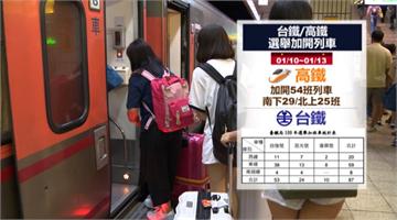 快新聞/大選將至  台鐵返鄉列車今開賣