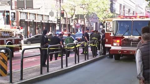 舊金山中市場公車站 又傳亞裔長者遭攻擊