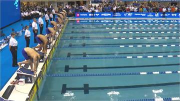 美國公開賽200公尺蝶式奪銀!17歲建中生王冠閎驚豔國際
