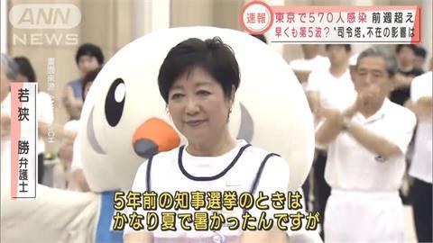 東奧、疫情兩頭燒! 東京都知事小池百合子累倒「延長住院」