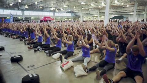 英國辦大型體適能活動募款 以健身「對抗癌症」