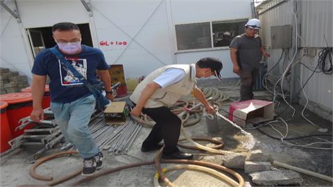 抗旱大作戰!台南汲取建案工地地下水