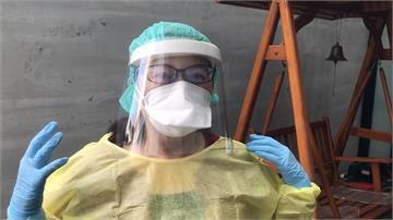 成本價不到10元!屏東基督教醫院DIY防護面罩