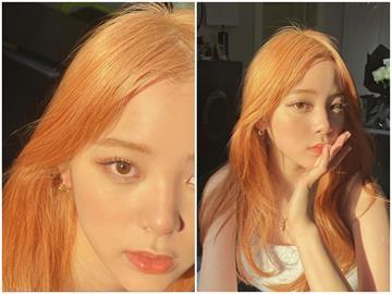 歐陽娜娜曬玫瑰金髮照又被酸  網怒嗆:新疆人民血染的!
