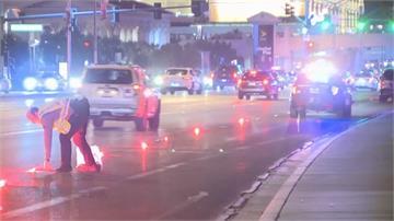 拉斯維加斯驚傳搶劫 搶匪朝警開槍被擊斃