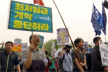 五一勞動爭福利 亞洲各國勞工走上街頭