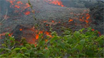 夏威夷火山持續噴發 道路又出現新裂縫