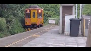 差幾步就撞上!網美照恐變「亡美照」婦人闖鐵軌自拍 火車鳴笛急煞