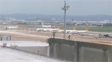快新聞/華航貨機爆胎緊急折返  桃機南跑道一度暫停使用32分鐘