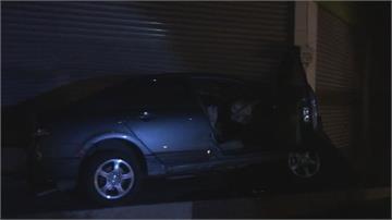轎車高速撞進超市  25歲母親當場死亡 「嬰兒座」救命  2幼童死裡逃生