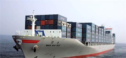 看好航運動能 萬海斥資逾130億訂製4艘貨櫃輪