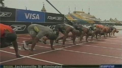39歲蓋特林百米10秒內 人類史上第1003次紀錄