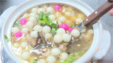 客家鹹湯圓「不包餡」配料豐富成必點菜色