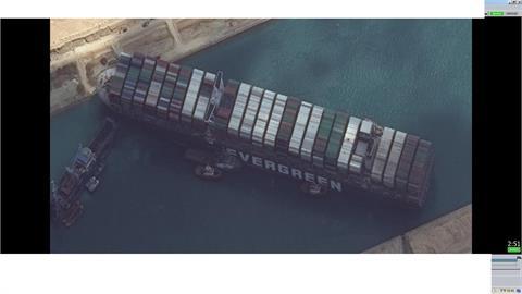 長賜號船東:已和埃及當局達初步協議 貨輪放行還需一段時間