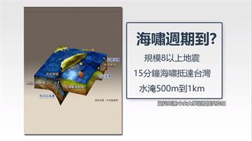 台灣將有海嘯?學者:鄰近海溝強震週期近了
