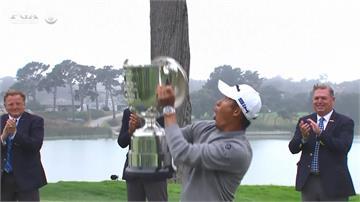 日裔美籍森川柯林 PGA錦標賽封王首奪大滿貫