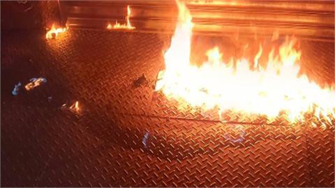 他DIY酒瓶做汽油彈只花半小時 砸店起火燃燒只因這件事