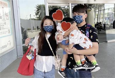 粉絲狂拍蔡桃貴蔡波能!1照片曝「人氣差距」蔡阿嘎慘輸2兒子