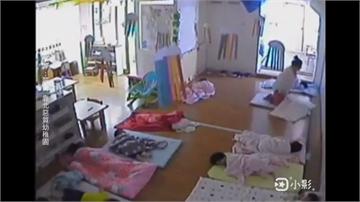 托嬰中心驚傳保母壓童哄睡 拿棉被蓋頭臉