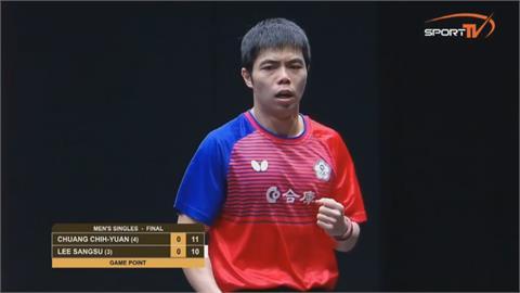 桌球教父登外國官網 莊智淵被稱「長青樹」