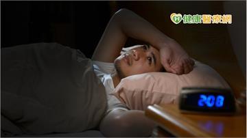 夜夜失眠睡不著? 養成「8大習慣」改善睡眠品質