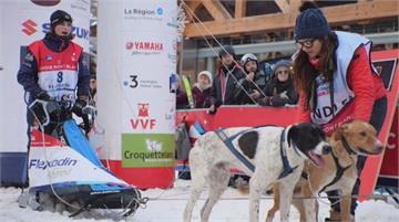 400公里長征!法國雪橇犬大賽橫跨阿爾卑斯山