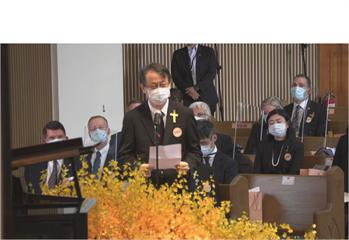 快新聞/日本團悼念李登輝 安倍:仍記得「有力道的握手」